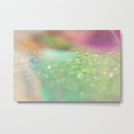 Magical Rainbow Fairy Dust Metal Print