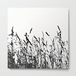 Long grass Metal Print