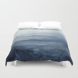 Indigo Abstract Painting | No.2 Duvet Cover