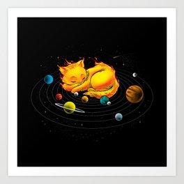 The Center Of My Universe Kunstdrucke