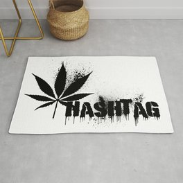 Hashtag Rug