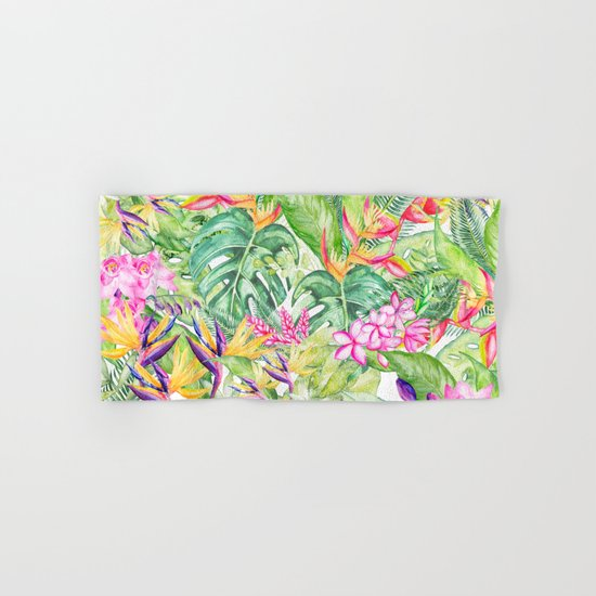 Tropical Garden 1A #society6 by wheimay