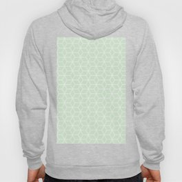 Geometric Hive Mind Pattern - Light Green #395 Hoody