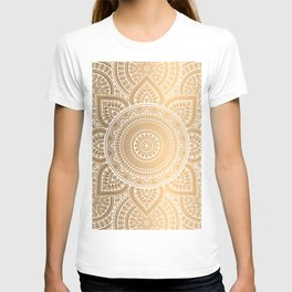 Gold Mandala 3 T-shirt