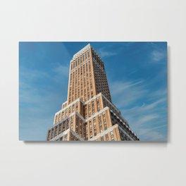 New York City, Manhattan, tall building (2019-GNY20) Metal Print