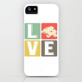 Sloth - love iPhone Case