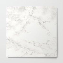 Marble by Hand Metal Print
