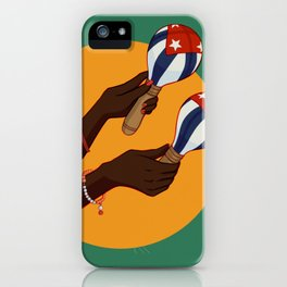 Cuban Maracas iPhone Case