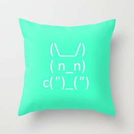 Bunbun Throw Pillow