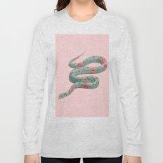 FLORAL SNAKE Long Sleeve T-shirt