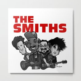 The Smiths (white version) Metal Print