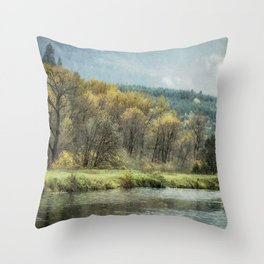 Time Waits for No One Throw Pillow