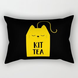 Cat Tea Tea Bags Cat Lover Cat Owner Sweet Kitten Rectangular Pillow