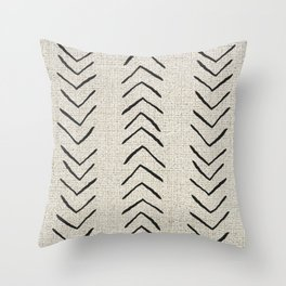 Minimal Arrow Pattern  Throw Pillow