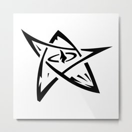 The Elder Sign Metal Print