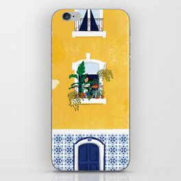 Lisbon girl iPhone Skin