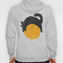 Cat with ball Hoodie