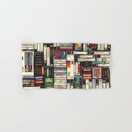 Cassettes, VHS & Games Hand & Bath Towel