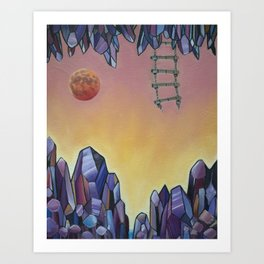 'Transcendence' Art Print