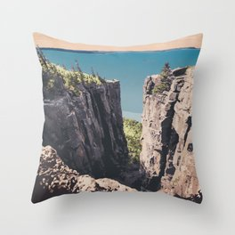 Sleeping Giant Provincial Park Throw Pillow