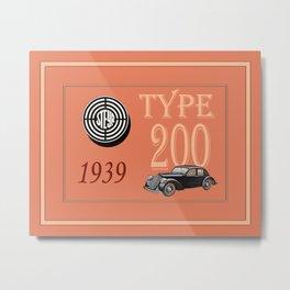 Automotive Art 211 Metal Print
