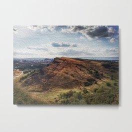 Beauty of Scotland. Metal Print