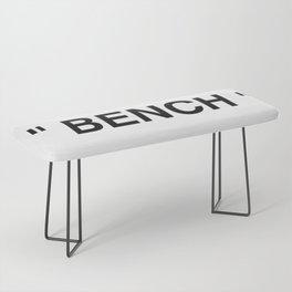 """ Art "" Bench"