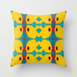 FOM Yellow Throw Pillow