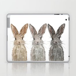 Triple Bunnies Laptop & iPad Skin