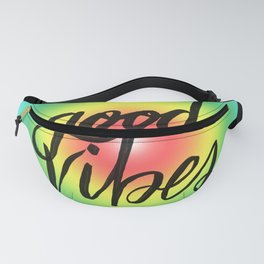 Good Vibes - Rainbow Pride Fanny Pack