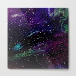 Inhabited space Metal Print