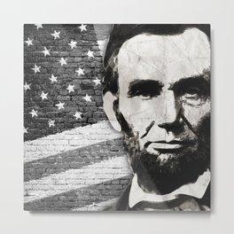 President Abraham Lincoln Metal Print