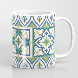 Italian Tile Pattern – Sicilian ceramic from Caltagirone Coffee Mug