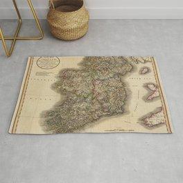 Map of Ireland 1799 Rug
