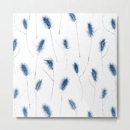 [ Quiet ] The Pattern Metal Print