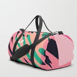 Cat Planet Girl Duffle Bag
