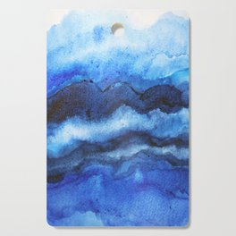 Blue Layers Cutting Board