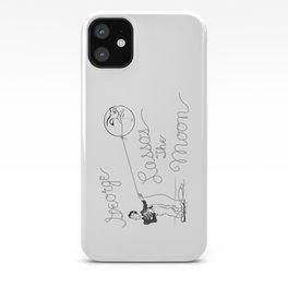 It's a Wonderful Life - George Lassos the Moon iPhone Case