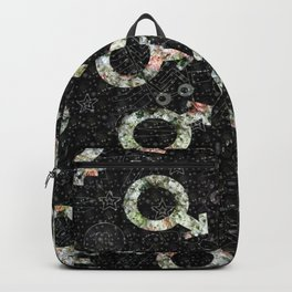 Love, male, female Backpack