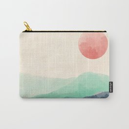 Rolling Verdant Hills 2 Carry-All Pouch