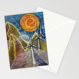 Windy Day in Tucker County Stationery Cards