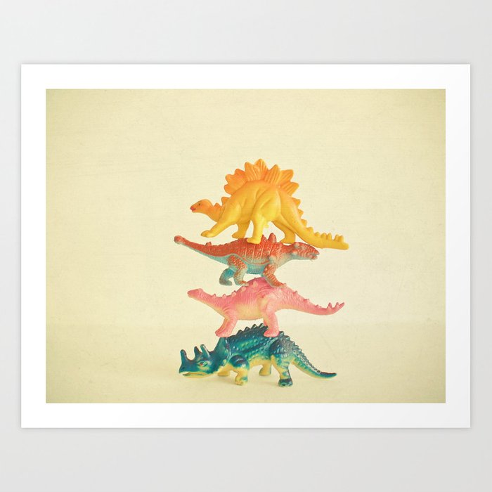 Dinosaur Antics Kunstdrucke
