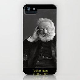 Nadar. Portrait of Victor Hugo 2 iPhone Case