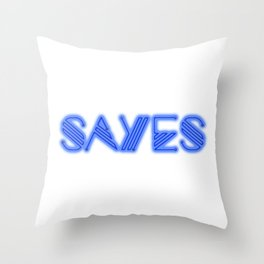 SaYes – he Throw Pillow