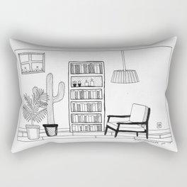 Living Room 2 Rectangular Pillow
