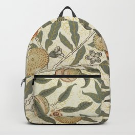 William Morris Fruit Pattern Backpack
