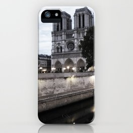 the hunchback of notre dame - seine iPhone Case