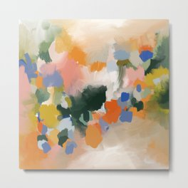 Spring colours-abstract Metal Print