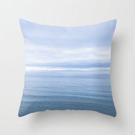 Ocean Seascape Landscape Photograph Throw Pillow