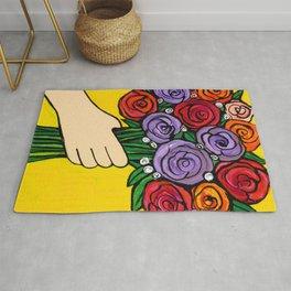 Rose Bouquet Rug